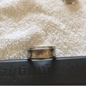Tiffany and co ring (Titanium) Pre-owned